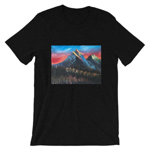 Short-Sleeve Unisex T-Shirt - Mountain Forest (CO)