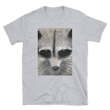 Load image into Gallery viewer, Short-Sleeve Unisex T-Shirt - Racoon (SS)