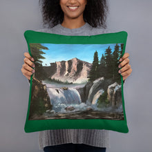 Load image into Gallery viewer, Basic Pillow - Waterfall (FM)