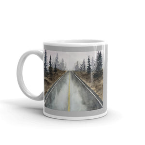 Mug - Tree-Lined Road (GW)