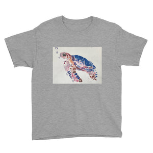 Youth Short Sleeve T-Shirt - Sea Turtle (AM)