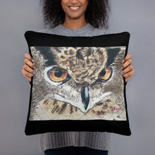 Load image into Gallery viewer, Basic Pillow - Owl (MM)