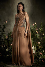 Load image into Gallery viewer, Draped Corset Saree