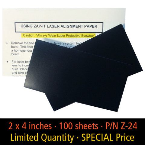 Zap It 174 Laser Alignment Paper To Measure And Document A