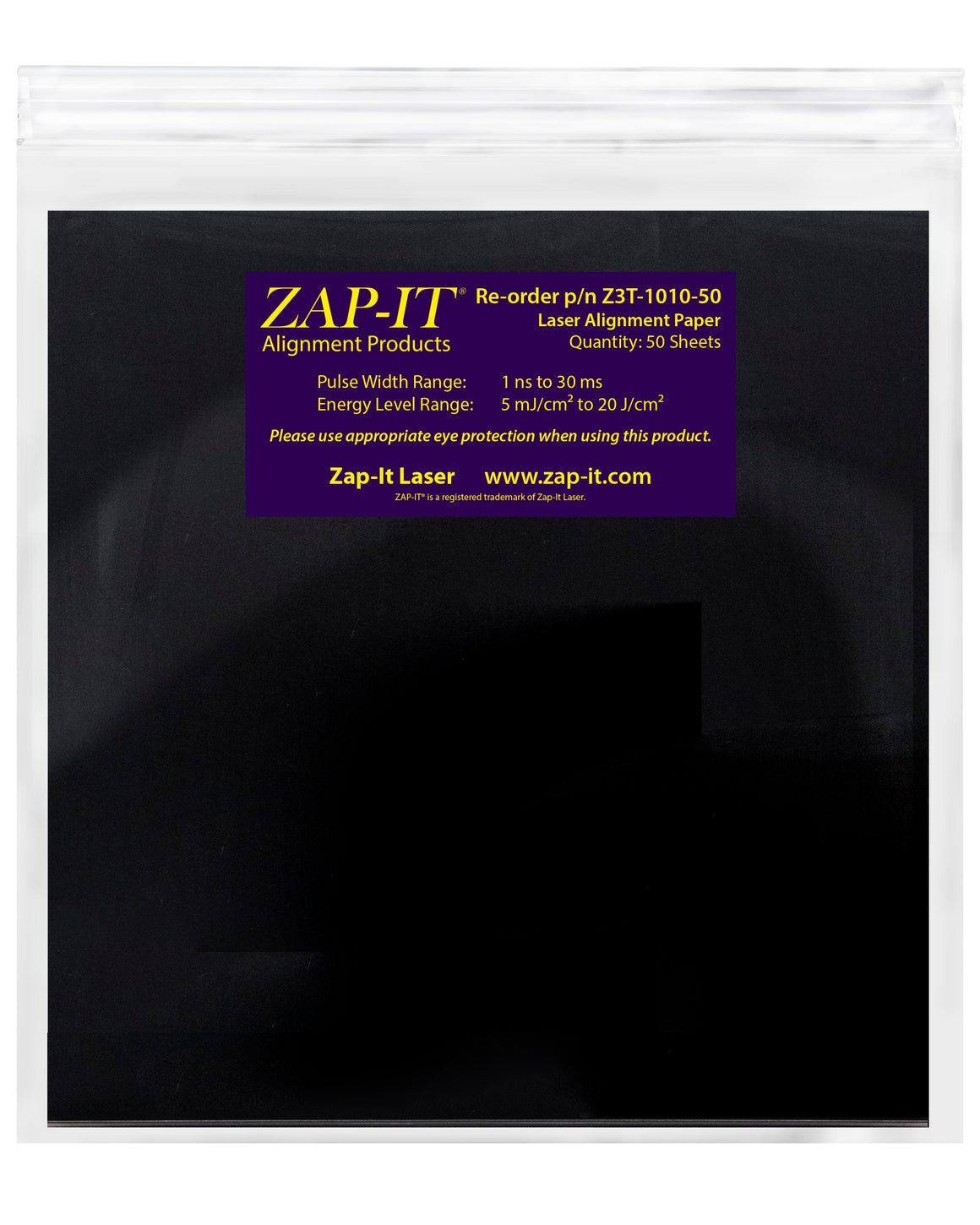 ZAP-IT® Paper 10 x 10 inches