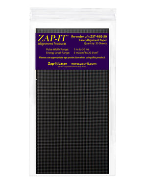 Z3T ZAP-IT® Paper 4 x 8 inches with Grid