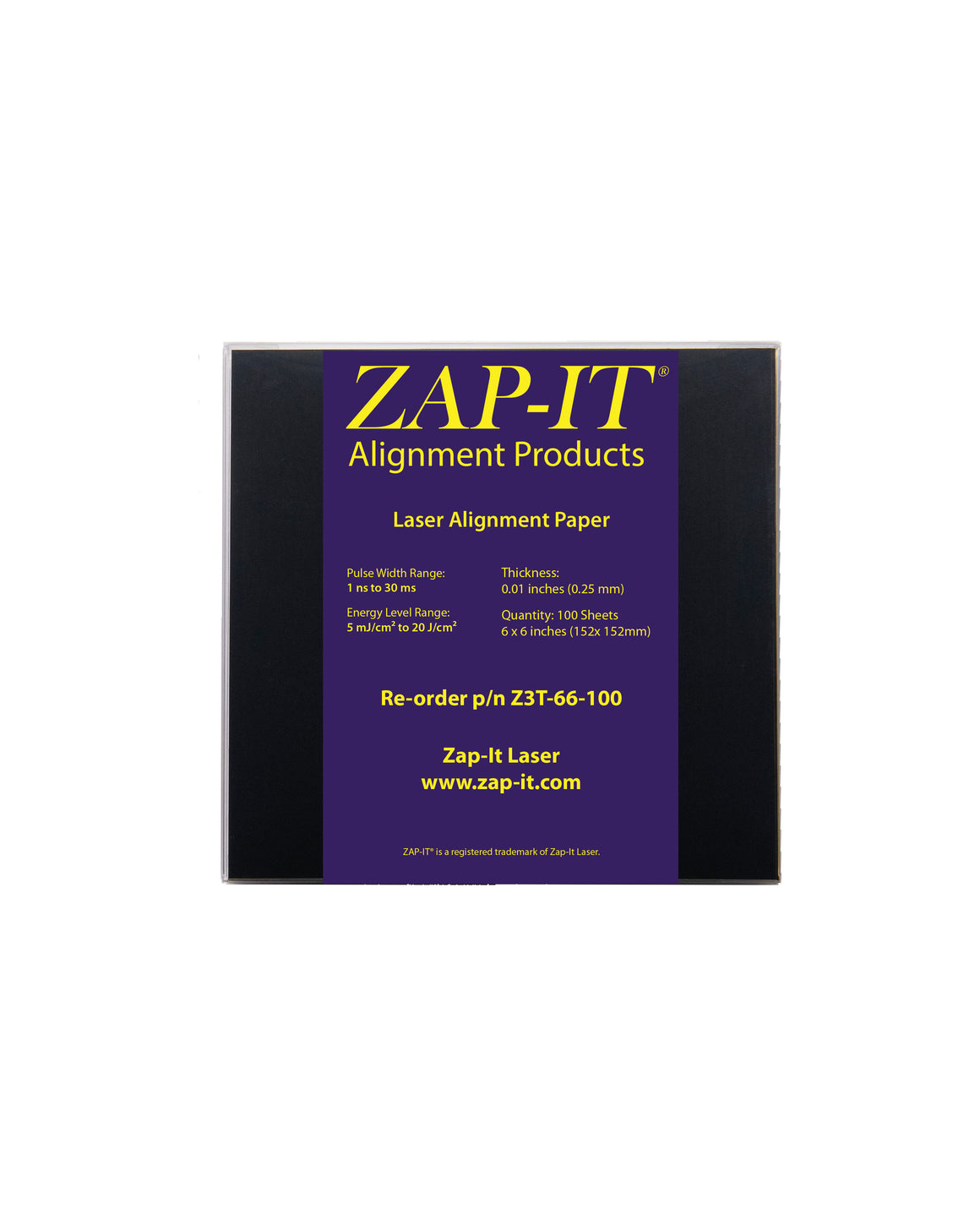 Z3T-66-100  Laser Alignment Paper