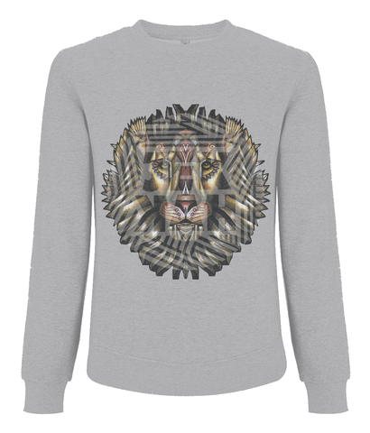 JEKKAH LION - Organic Cotton Sweatshirt - Unisex