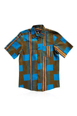 BAFULOTO - Short-Sleeved Shirt - Men's