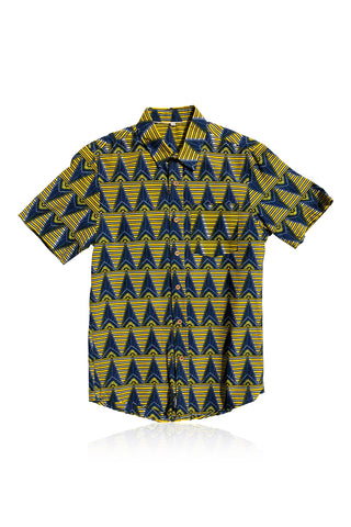 Baniakang - Short-Sleeved Shirt - Men's