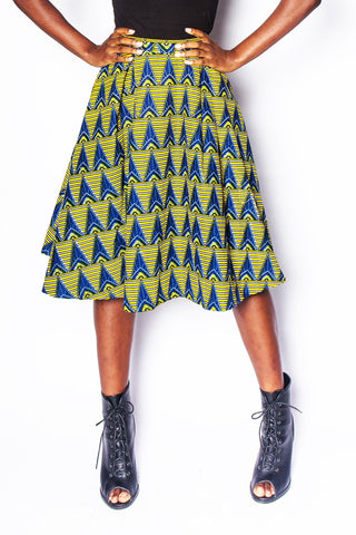 Baniakang - Pleated Skirt - Women's