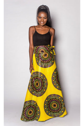 African Skirt by JEKKAH