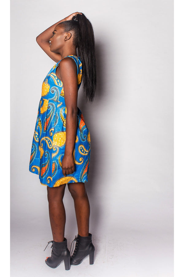 African Dress Womens by JEKKAH