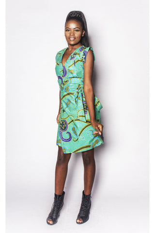 Dimbaya - Wrap Dress - Women's