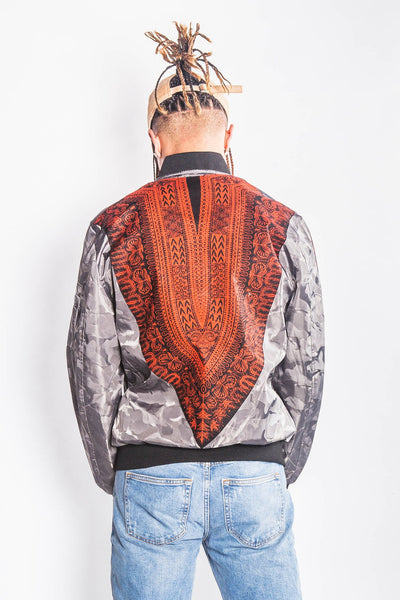 Jarbang Dashiki 2017 - Bomber Jacket - Men's