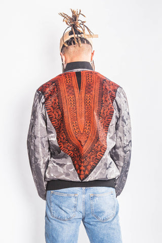 Jarbang Dashiki - Bomber Jacket - Men's