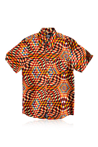 Farafeni - Short-Sleeved Shirt - Men's