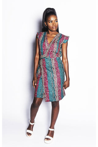 Fatik - Wrap Dress - Women's