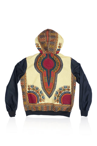 GANYADO - Hooded Bomber Jacket - Unisex