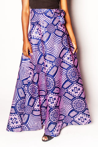 Kili - Wrap Maxi Skirt - Women's