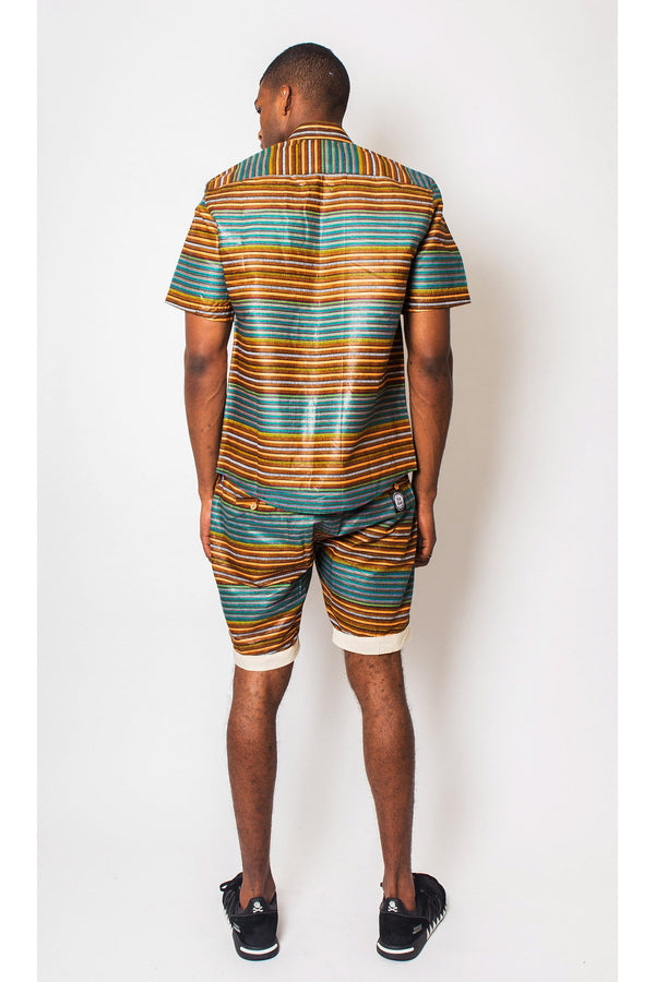 African Inspired Shirt Men's JEKKAH