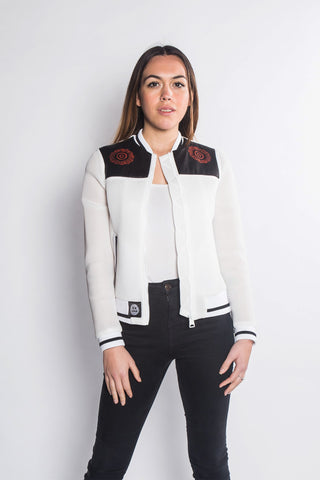 Kasseh - Bomber Jacket Netted - Women's