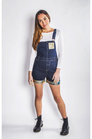 Keitaya - Denim Dungarees - Women's