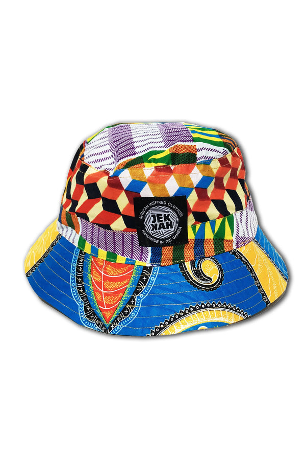 Patchwork - Bucket Hats - Unisex