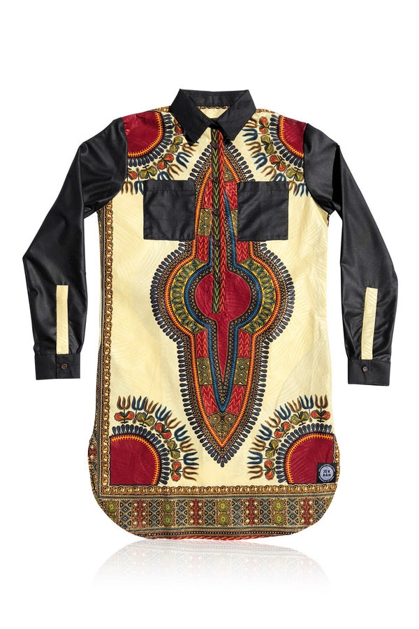 SANCHABA - Dashiki Tunic - Unisex