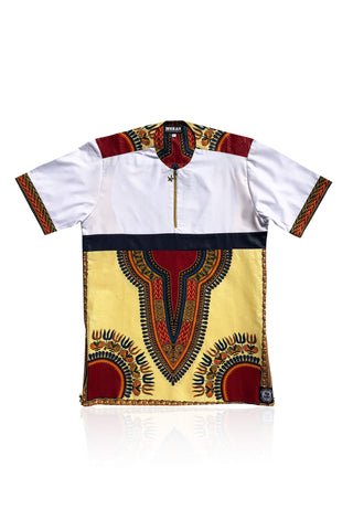 TENDA - Cream Dashiki - Unisex