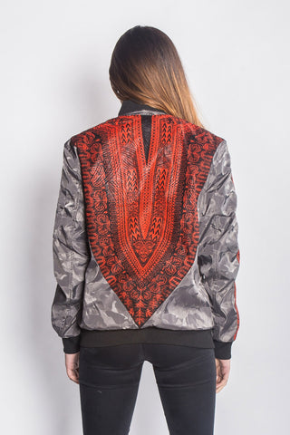 Jarbang Dashiki - Bomber Jacket - Women's