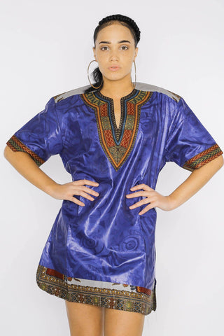 Bolong Dashiki - African Dress - Women's