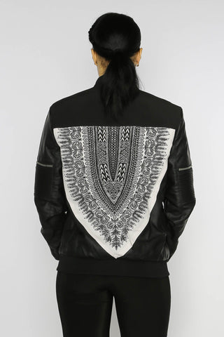 Touba Dashiki - Bomber Jacket - Women's