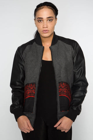 Mekhe Dashiki - Bomber Jacket - Women's