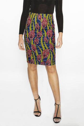 Kuntaur - Pencil skirt - Women's