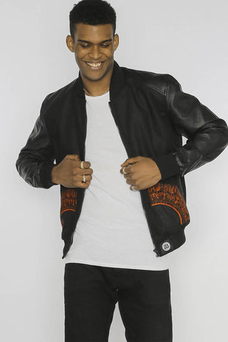 Mbacke Dashiki - Bomber Jacket - Men's