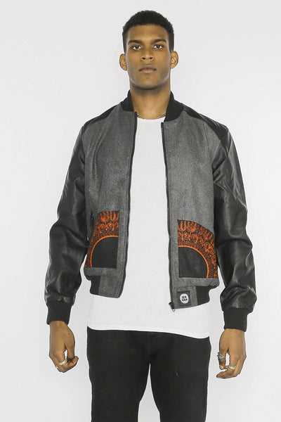 Mekhe Dashiki - Bomber Jacket - Men's