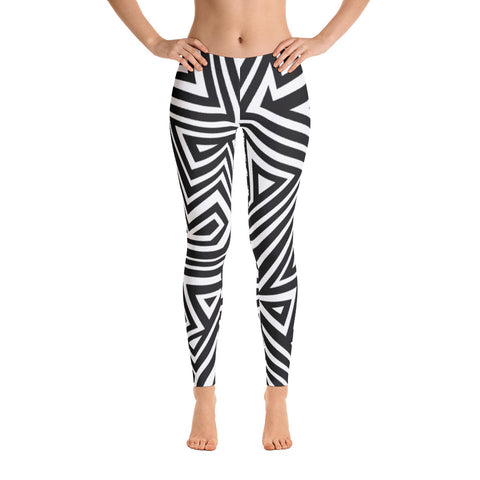 MBOGE - African Print Leggings - Women's