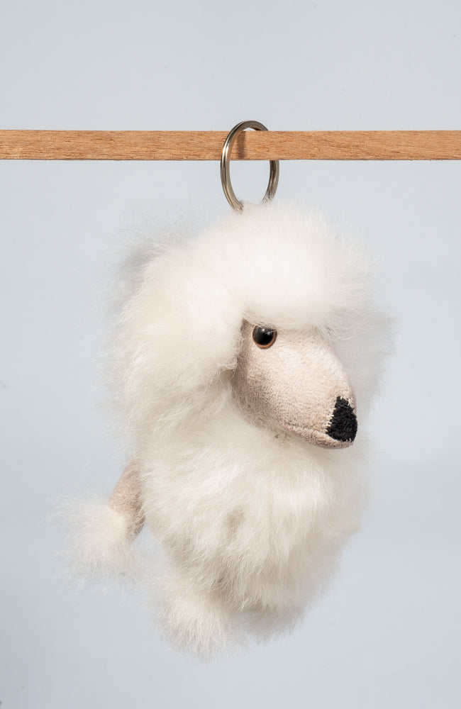 Poodle Keychain | Backpack Hanger