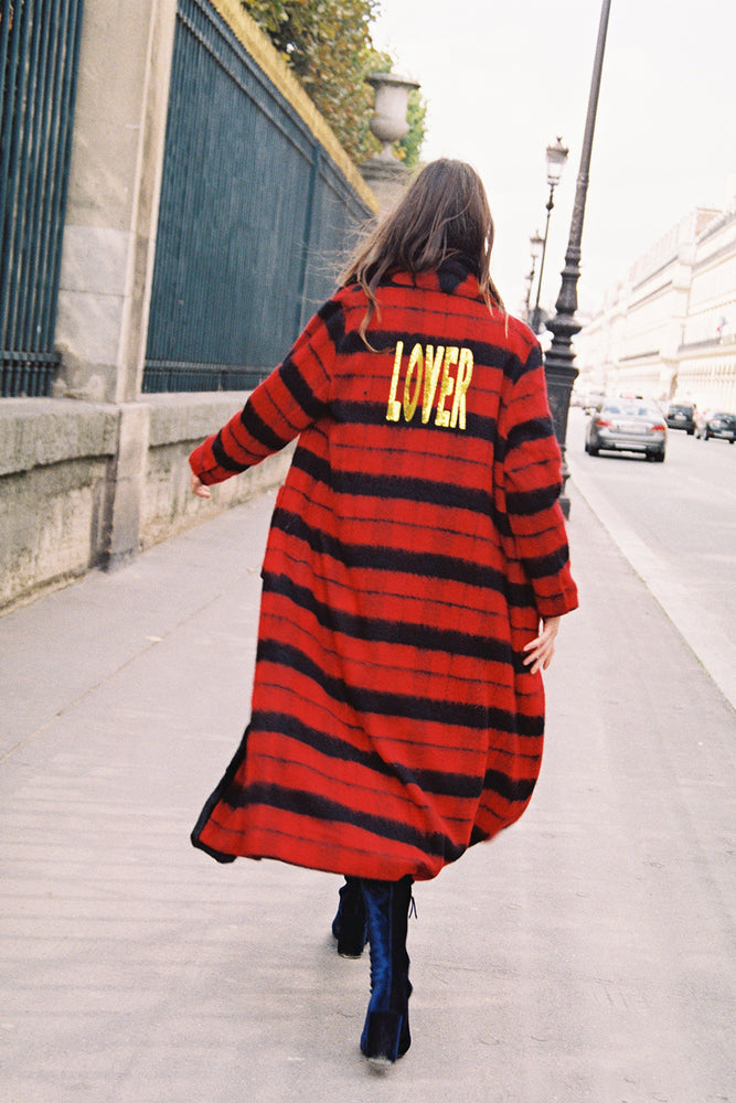 LOVER WINTER COAT - RED
