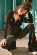 LDC VELOUR TRACKSUIT TOP