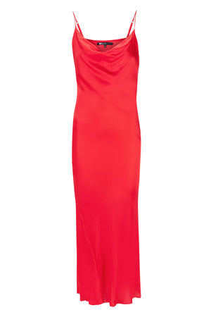 Bombshell Slip Dress - Red