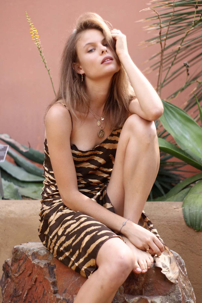 Easy Tiger Slip Dress