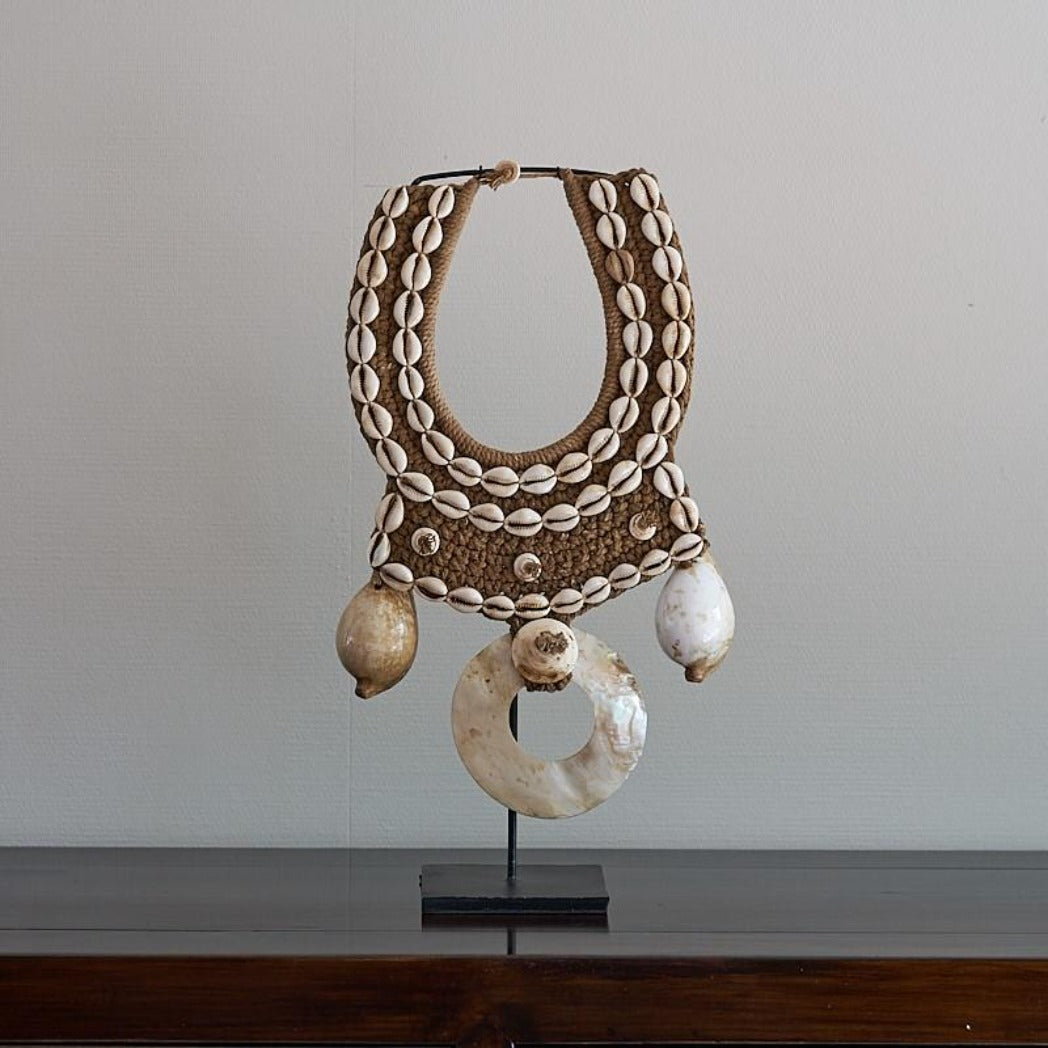 Papua Kima and Cowrie Shell Necklace