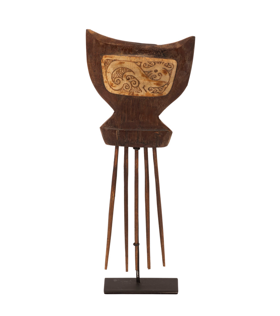 Wooden Hair Pin of Kalimantan