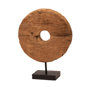 Roda Kayu - Wooden Disc Wheel of Java