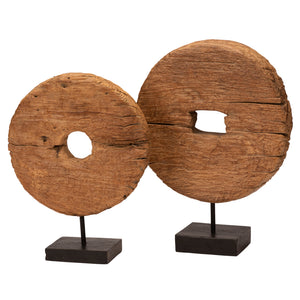 Roda Kayu - Medium Wooden Wheel of Java