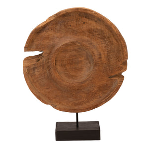Teak Wooden Pot Cover of Java