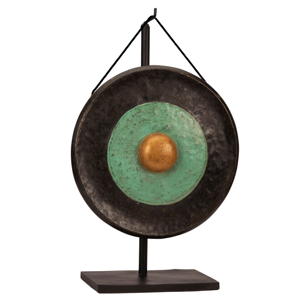 Javanese Black & Green Traditional Gong