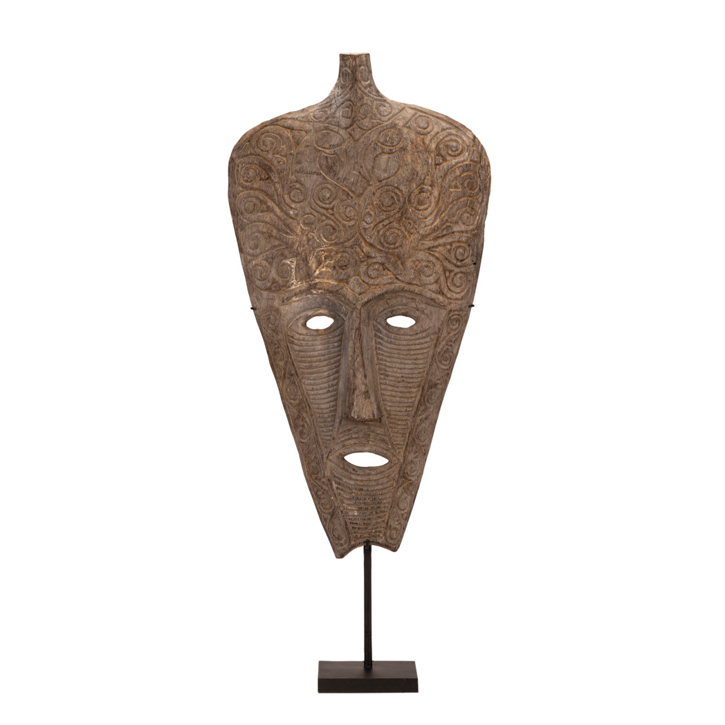 Primitive Kadauma Mask of Timor